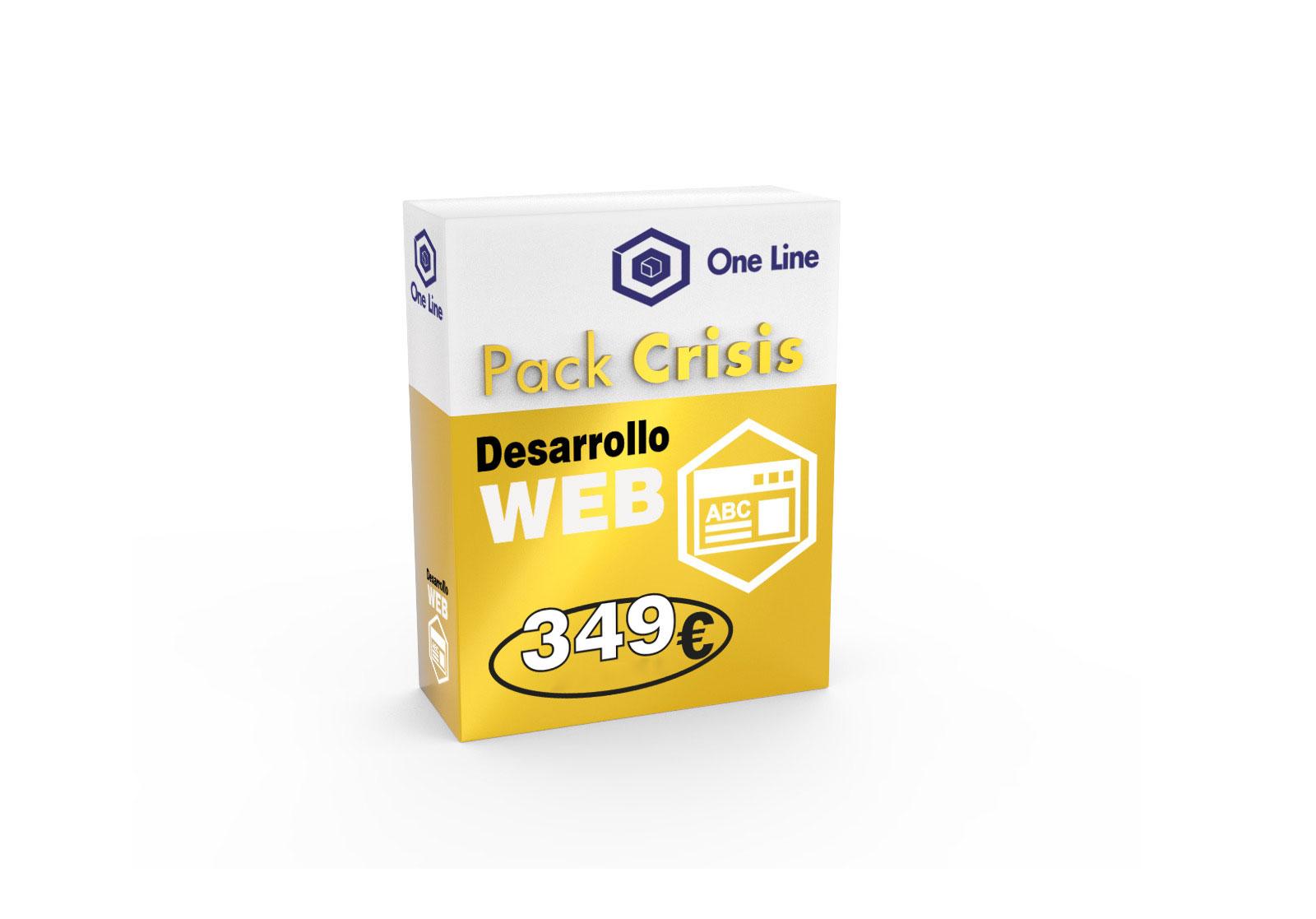 Diseño Página WEB - Pack Crisis