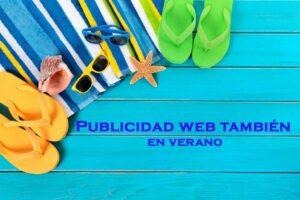 Publicidad web en verano