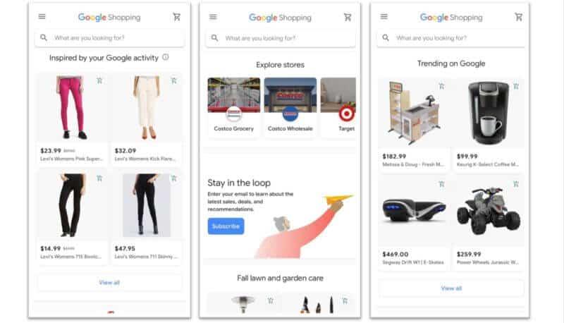 Nuevo Google Shopping